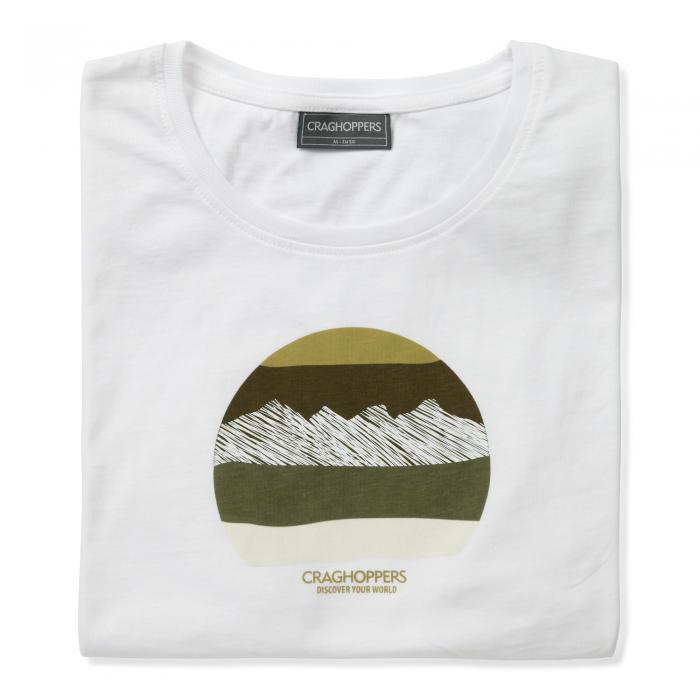 Eastlake Short Sleeved T-Shirt Optic White