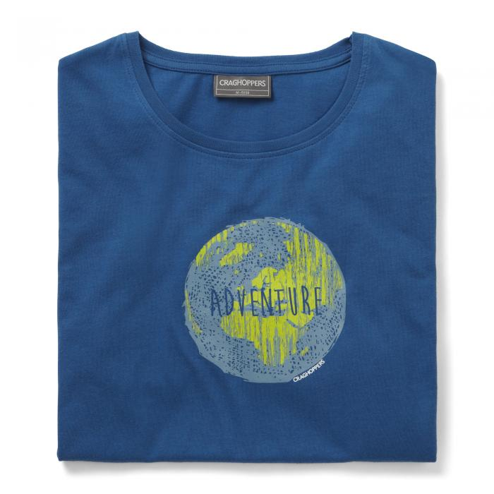 Eastlake Short Sleeved T-Shirt Deep Blue