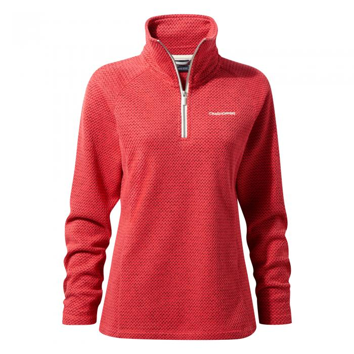 Lindell Half Zip Watermelon