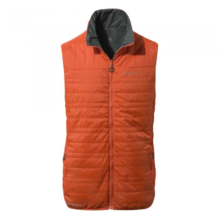 CompressLite Vest II Spiced Orange Grey