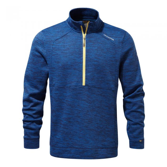Vector Half Zip Deep Blue