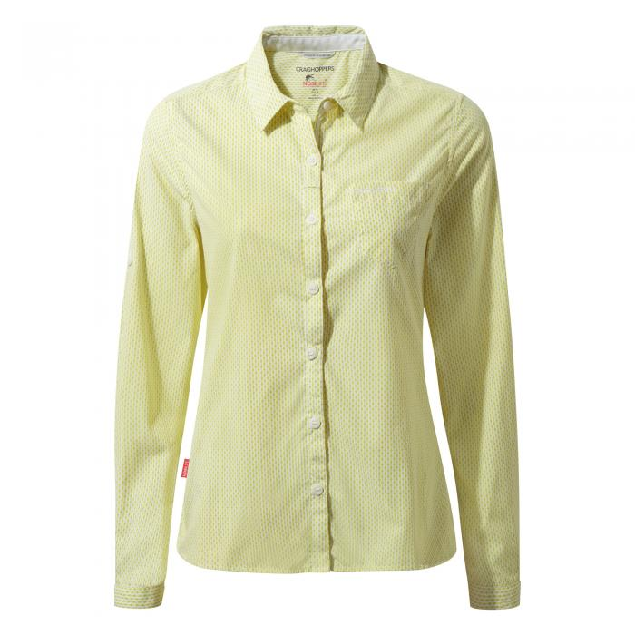 NosiLife Shona Long Sleeved Shirt Limeade Combo