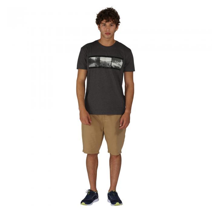 Negatives T-Shirt Charcoal Marl