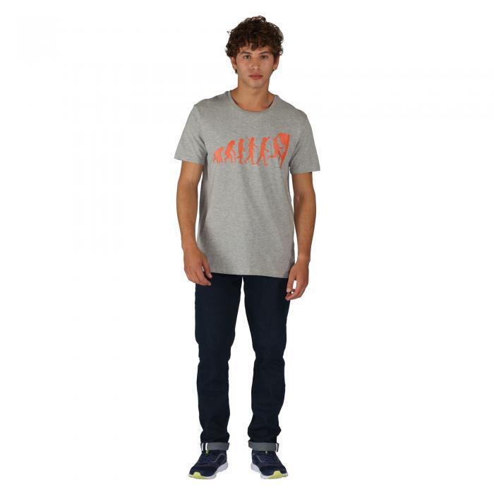 Darwin T-Shirt Ash Grey Marl