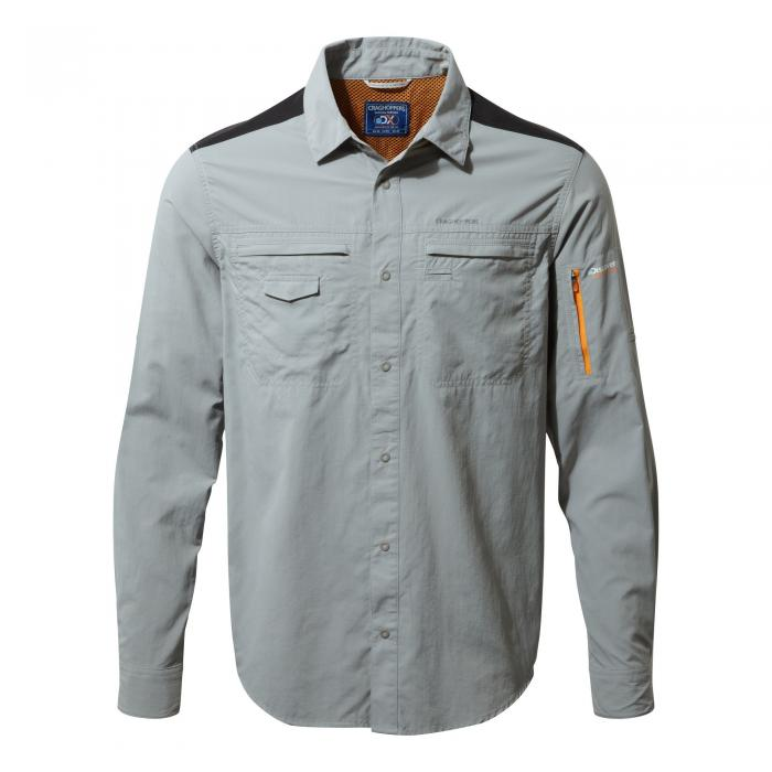 Discovery Adventures Long Sleeved Shirt Quarry Grey