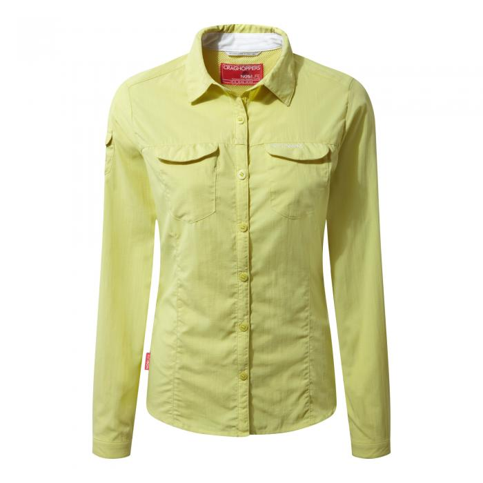 NosiLife Adventure Long Sleeved Shirt Limeade