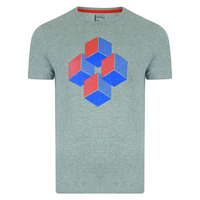 Enactment T-Shirt Ash Grey Marl