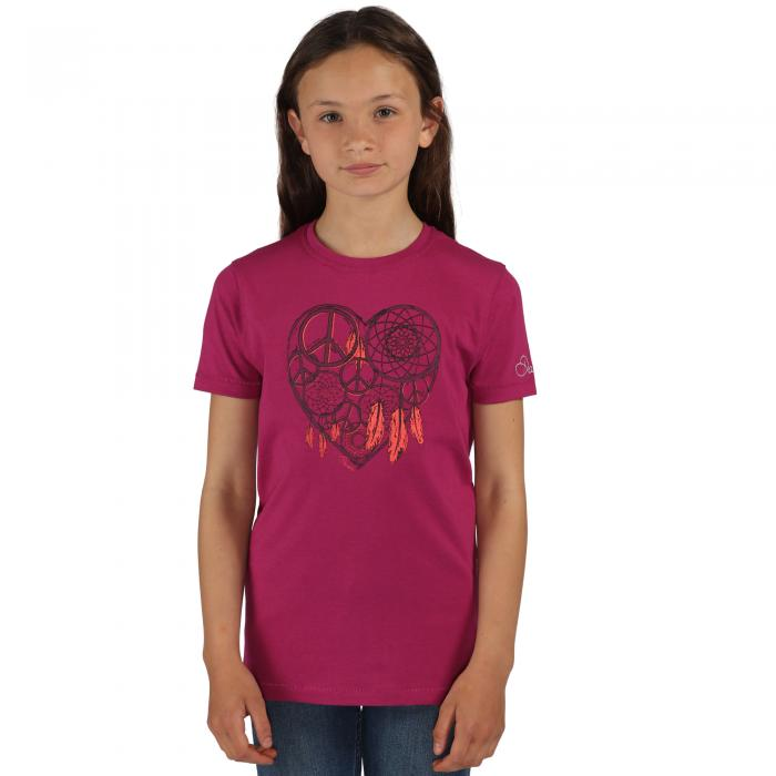 Luck ofthe Draw T-Shirt Camellia Purple
