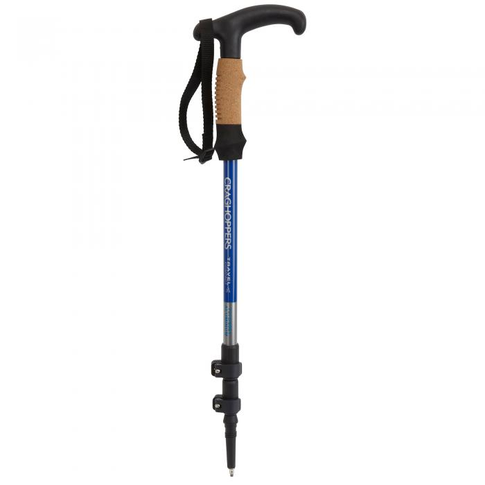 Travel Compact Walking Pole Sport Blue