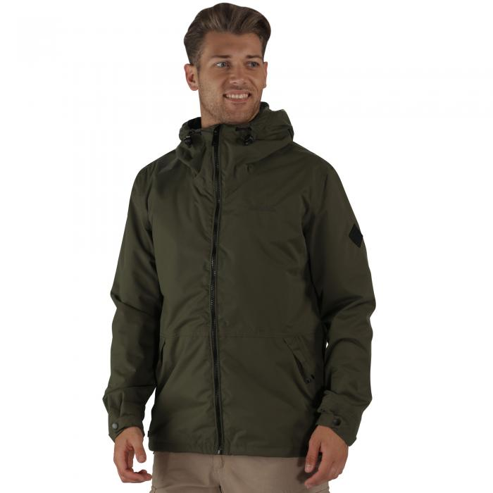 Harlan Jacket Olive Night