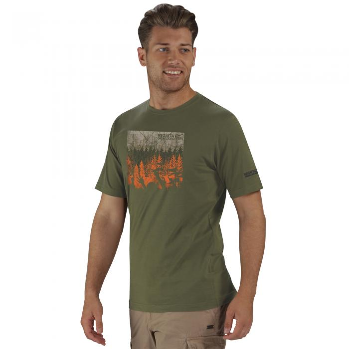 Cline T-Shirt Olive Night