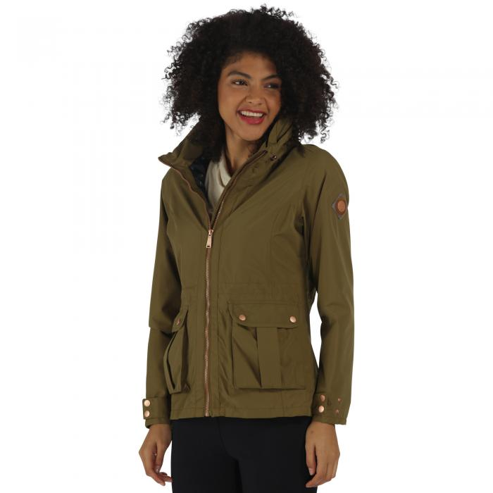 Nardia Jacket Utility Green