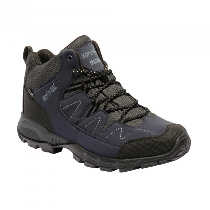 Holcombe Mid Walking Boot Navy Granite