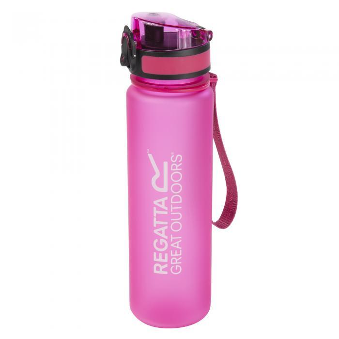 0.6L Tritan Flip Top Bottle Pink
