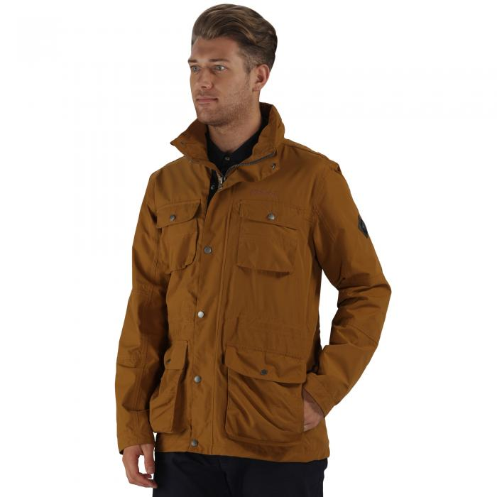 Elwin Jacket Dark Cumin