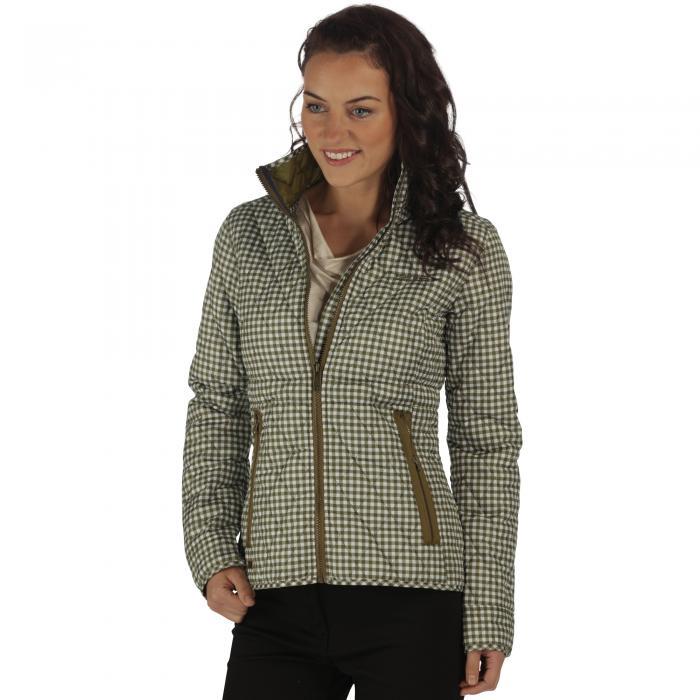 Cosmia Quilted Jacket UtilityGreen