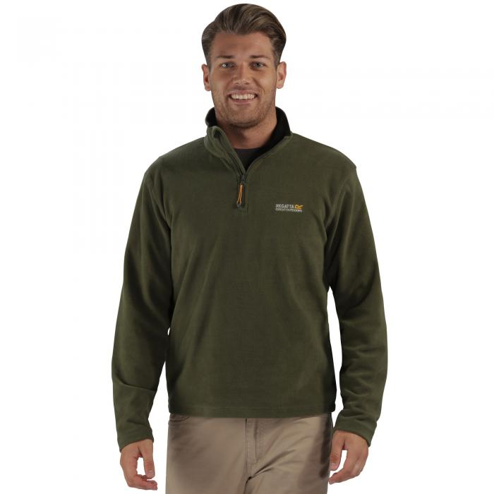 Thompson Fleece Olive Night