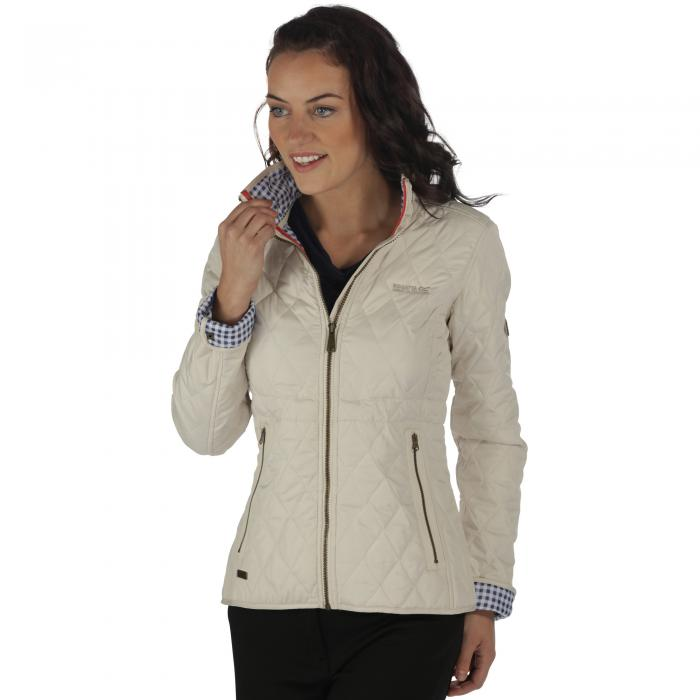 Cosmia Quilted Jacket LightVanilla