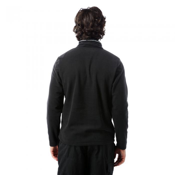Corey III Half Zip Black