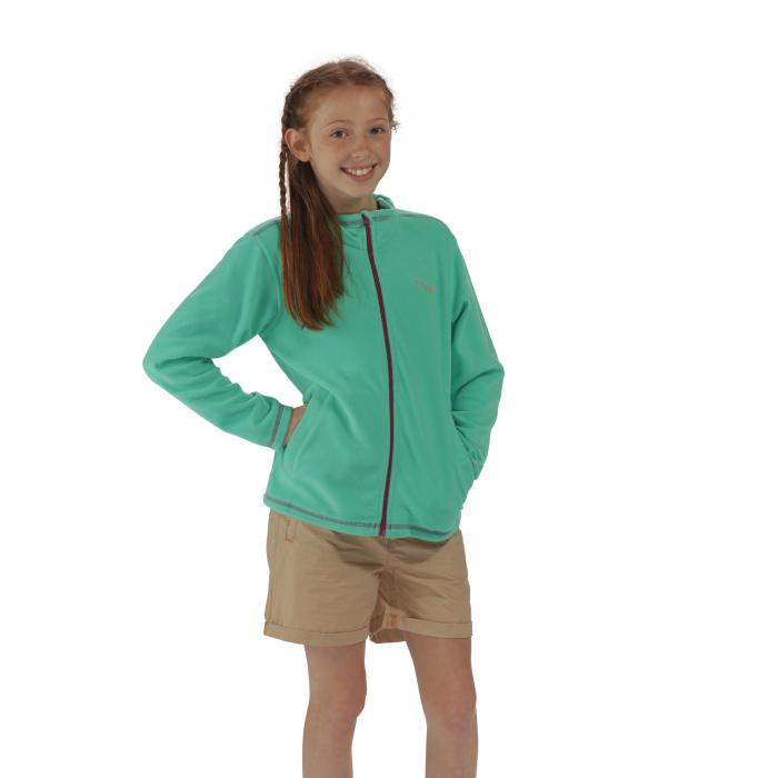 King II Fleece Pale Jade