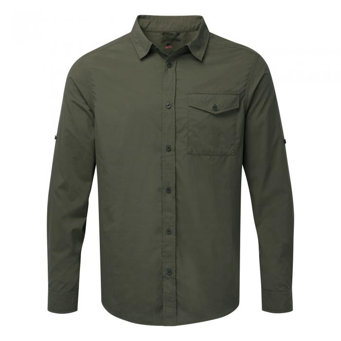 NosiLife Shirt Dark Khaki