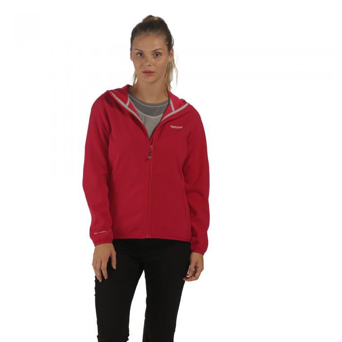 Women's Arec Softshell Jacket Cerise