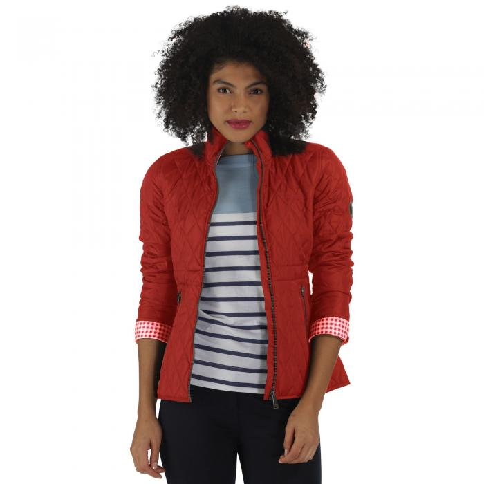 Cosmia Quilted Jacket Molten