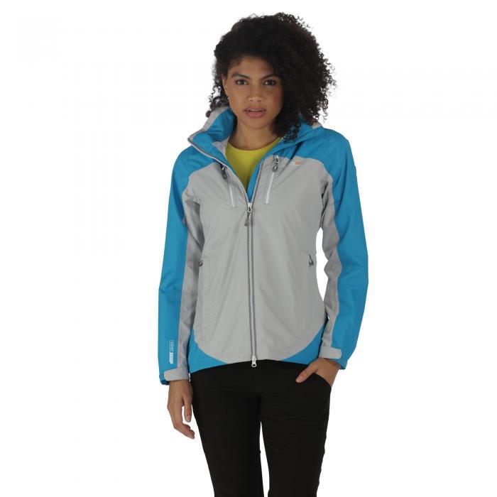 Women's Calderdale II Jacket Fluro Blue Steel
