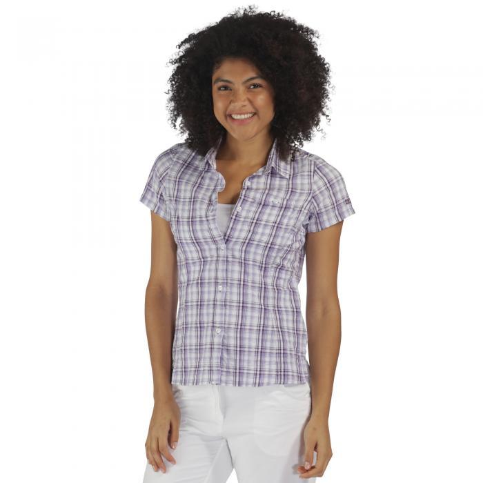 Jenna Shirt PaislyPurple