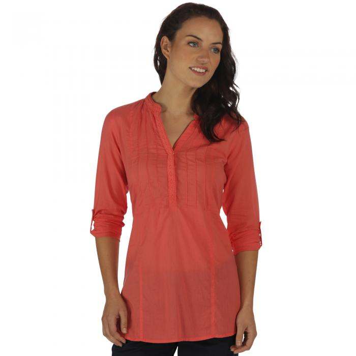 Magda Tunic Deep Sea Coral