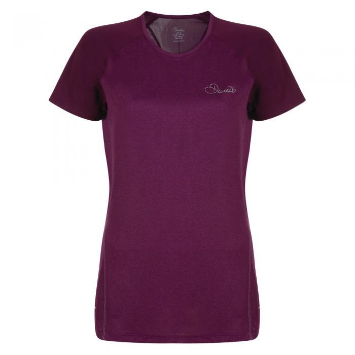 Three Strikes T-Shirt Purple Marl