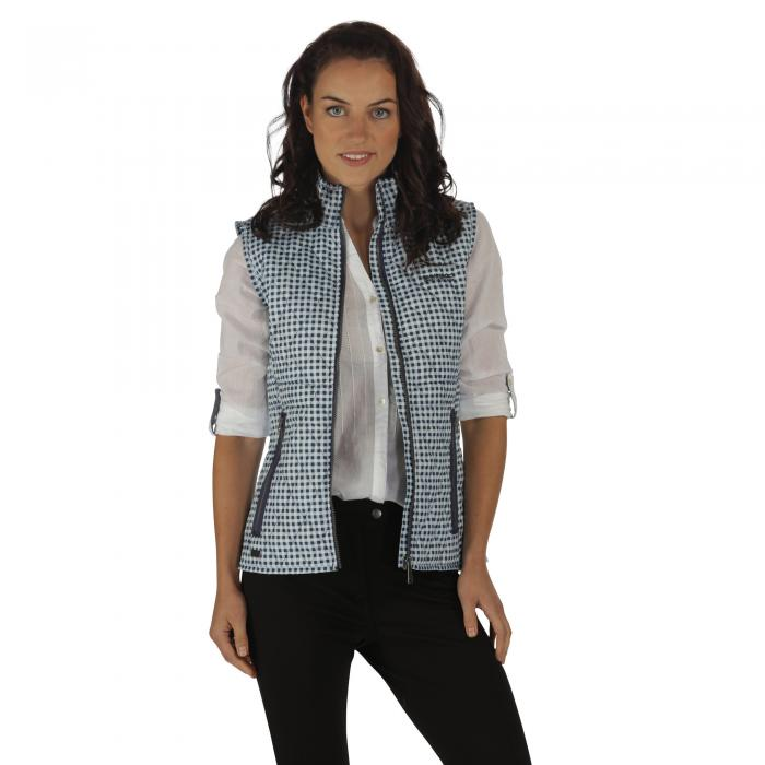 Cosmia Quilted Gilet Light Marine
