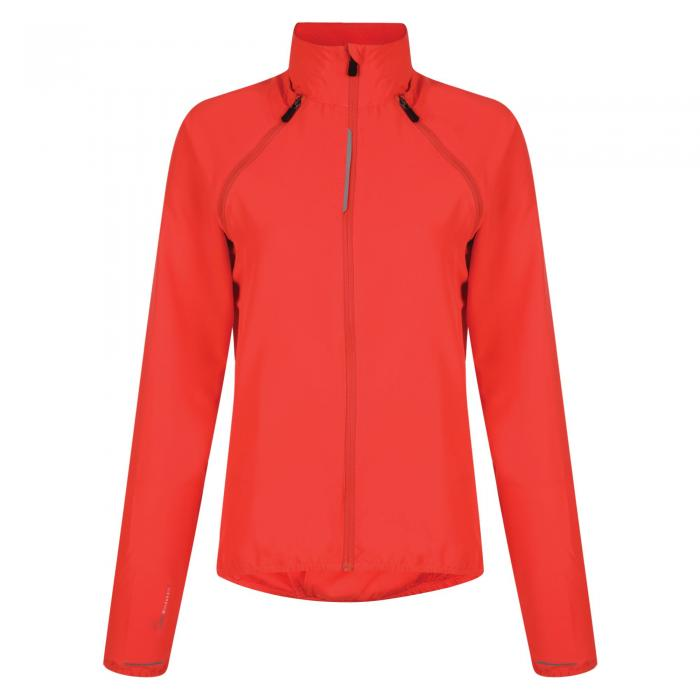 Womens Unveil Windshell Jacket Neon Pink