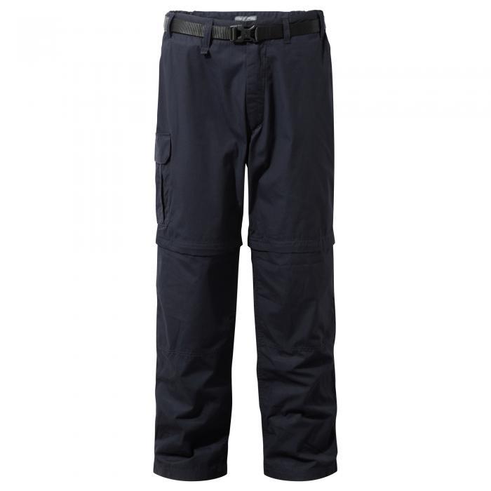 Kiwi Convertible Trousers Dark Navy