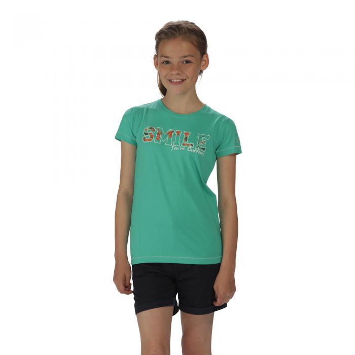 Bobbles II T-Shirt Pale Jade