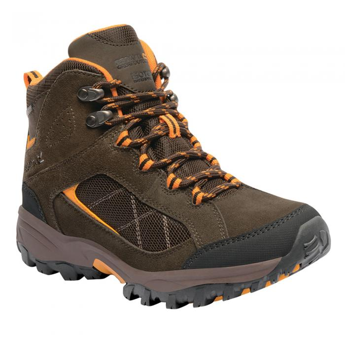 Lady Clydebank Hiking Boot Brown Zinnia