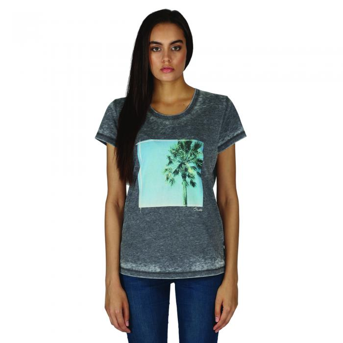 Poised T-Shirt Charcoal Marl