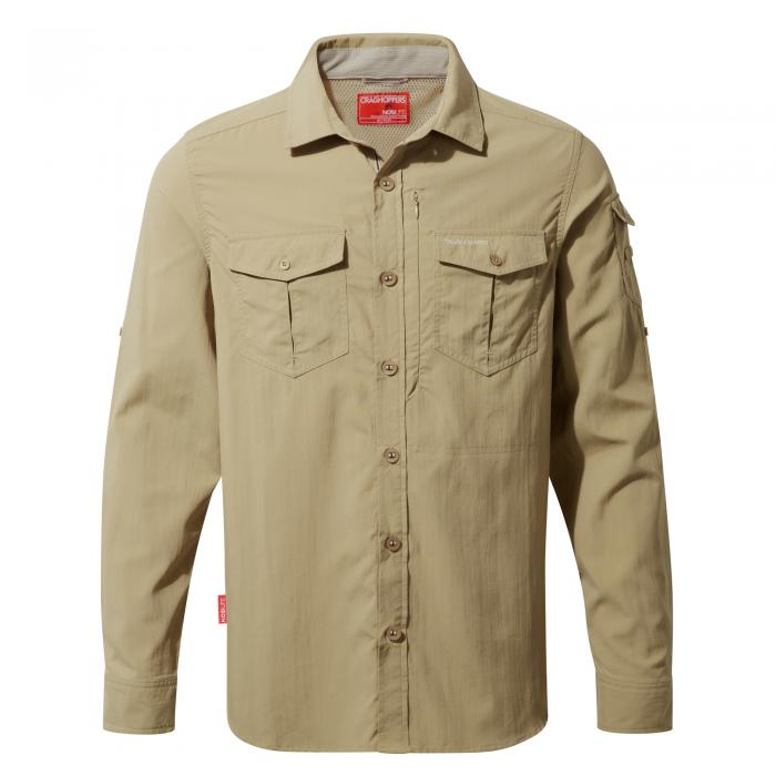 NosiLife Adventure Long Sleeved Shirt Camel