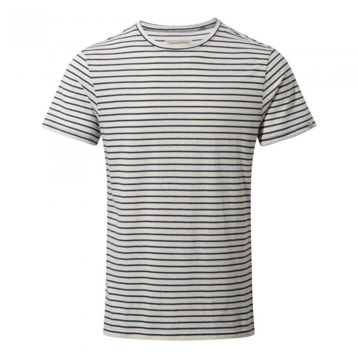 Bernard Short Sleeved T-Shirt Night Blue Combo