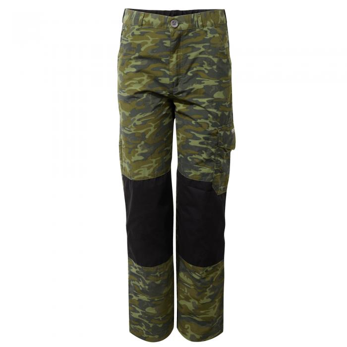Discovery Adventures Kids Trouser Dark Moss Combo