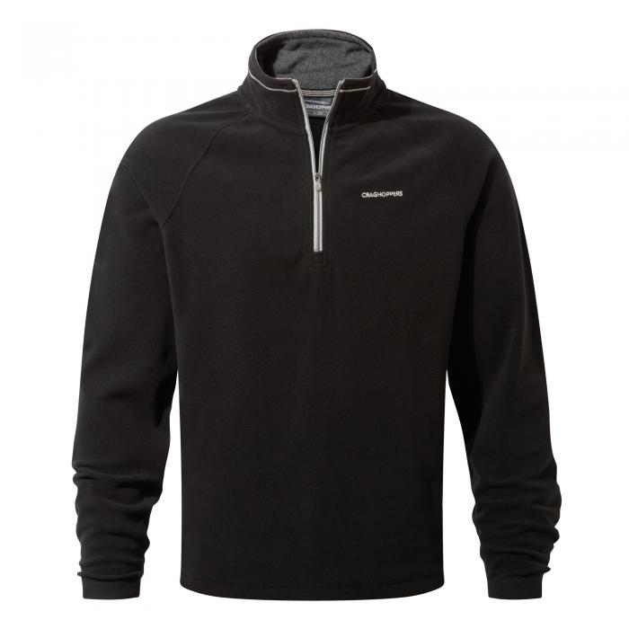 Selby Half Zip Black