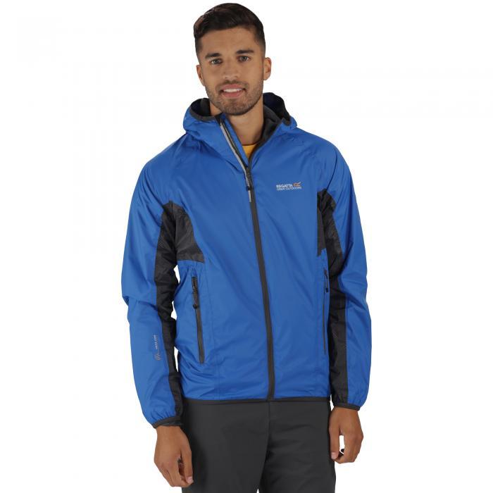 Levin Jacket Oxford Blue Grey