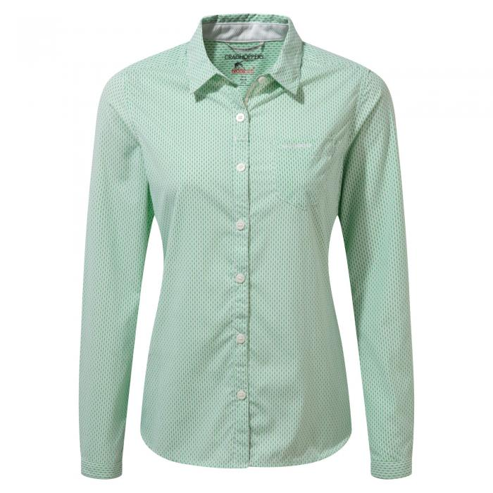 NosiLife Shona Long Sleeved Shirt Apple Tang Combo