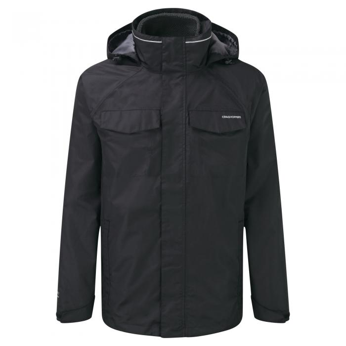Wheeler 3 in 1 Jacket Black Black Pepper