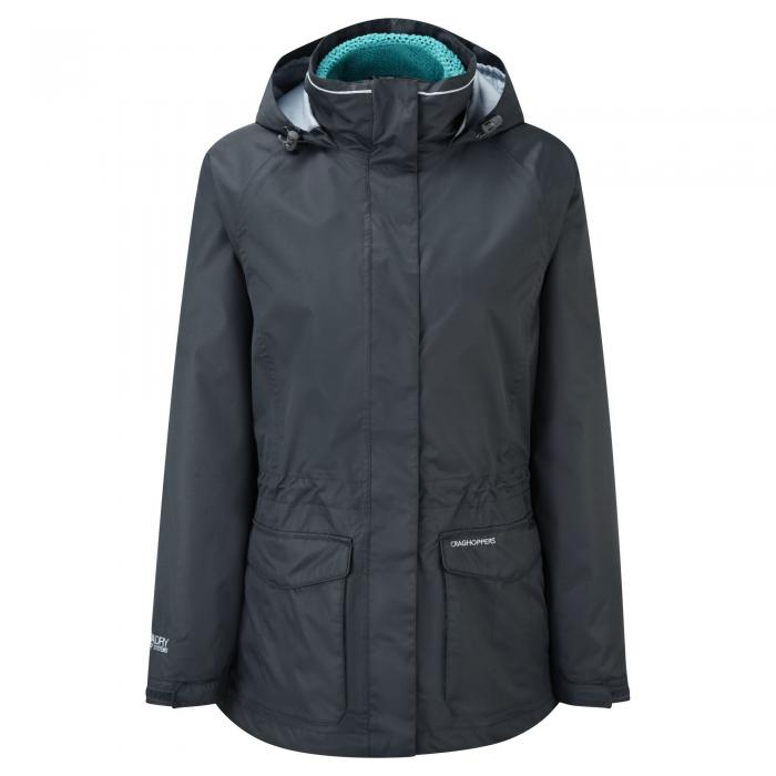 Ellie 3 in 1 Jacket Charcoal Teal