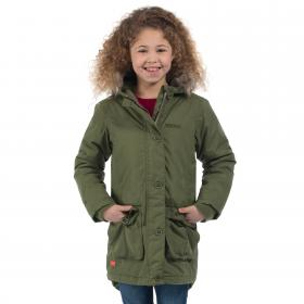 Girls Totteridge Parka Jacket Cypress Green