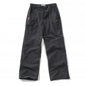 Craghoppers Kids NosiLife Cargo Trousers - Black Pepper