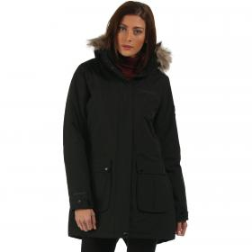 Schima Parka Jacket Black
