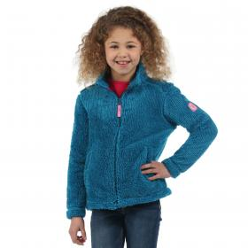 Girls Foxton Fleece Petrol Blue