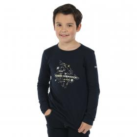 Wilder Long Sleeve T-Shirt Navy